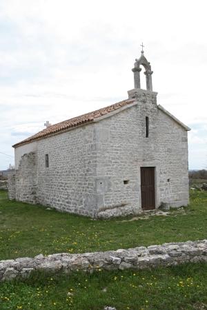 Crkva svete Marije u Škabrnji
