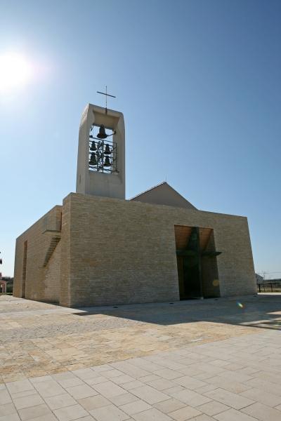 Nova župna crkva Uznesenja Blažene Djevice Marije u Škabrnji